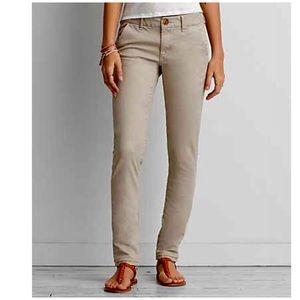 NWT American Eagle Skinny pants 14